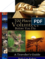 Places to Volunteer Before You Die