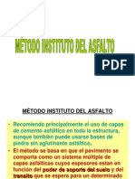 G Metodo Instituto Del Asfalto
