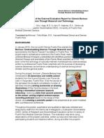 Executive Summary External Evaluation Ciencia Boricua Project