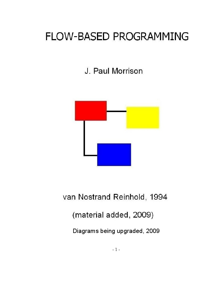 Flow Based Programming Book Component Software Engineering 130 Looper 96 Wiring Diagram Modular