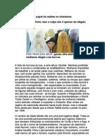 O Papel Da Mulher No Islamismo