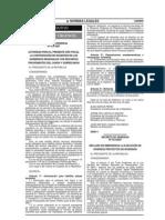 Decretos de Urgencia 013 y 014 2007