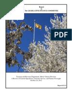 MVD Report