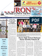 Huron Hometown News - October 25, 2012