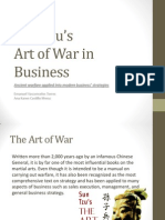 Sun Tzu's Art Of War in Business