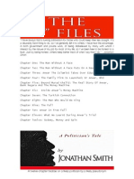 "THE ""I"" FILES • A Politician's Tale • Jonathan Smith"