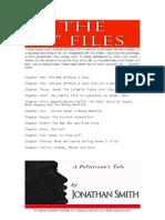 "THE ""I"" FILES • A Politician's Tale • Jonathan Smith"
