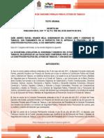 Ley de Ejecucion de Sanciones Penal para el estado de Tabasco