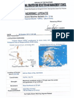 NDRRMC Update Re Severe Weather Bulletin 14 Typhoon OFEL