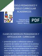Modelo Pedagogico y Modelo Curricular