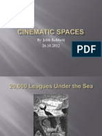 Cinematic Spaces - Presentation