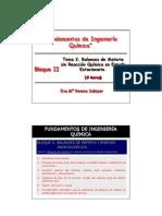 Tema 2 FIQ Balances de Materia Sin RQ en Estado Estacionario 2012 2013
