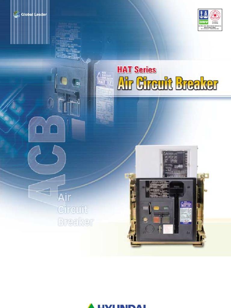 HAT Series Air Circuit Breaker Hyundai Electric | Relay | Switch