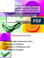 Broadcasting and Television Decision Support System Based On