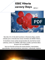Booklet Discovery Days