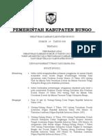 Perda Kab Bungo Nomor 14 Tahun 2008 Tentang Tarif Air Minum