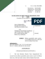Espionage Case Pune Judgement