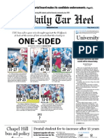 The Daily Tar Heel for October 26, 2012