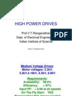 High Power Drives
