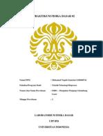Laporan rLab or-01 Mohamad Teguh Gumelar 1106000741