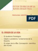 Fundamentos Teoricos de La Psicologia Dialectica