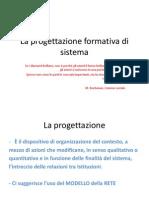 La Progettazione Formativa Di Sistema Per Blog
