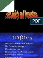 Fire Prevention 1