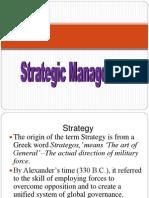 Strategic Management