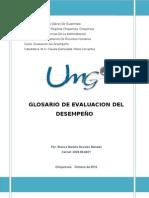 GLOSARIO DE EVALUACION DEL DESEMPEÑO BIANK