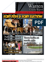 The Late October, 2012 edition of Warren County Report