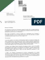 courrier Munncii à Caselli