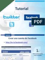 Aprender Facebook Twitter
