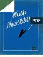 WASP Newsletter ~ 04/01/46