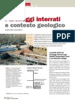 Parcheggi Sotterranei Contesto Geologico