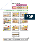 calendario escolar 2012e2013