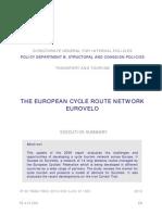 The European Cycle Route Network - Eurovelo