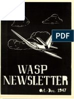 WASP Newsletter ~ 10/01/47