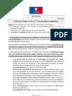 Argumentaire UMP 11 juin 2012 - 2eme tour législatives