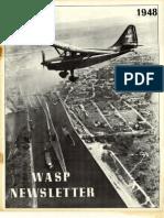 WASP Newsletter ~ 12/01/48