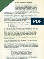 WASP Newsletter ~ 01/01/49