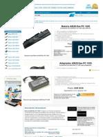 Www.bateriabaratos.com Asus Eee Pc 1225 bateria