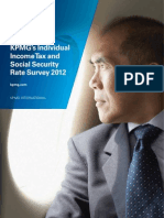 Individual Income Tax Rate Survey 2012