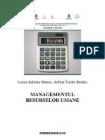 Proiect Managementul Resurselor Umane Final
