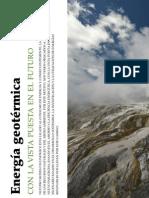 Geotermia, con la vista puesta en el futuro