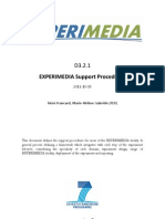D3.2.1 EXPERIMEDIA Support Procedures v1.0