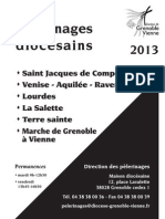 Tract Pelerinages 2013