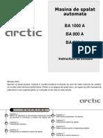 Manual de Utilizare BA 800A