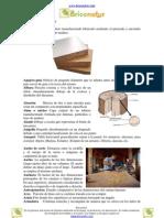 Glosario completo de carpintería
