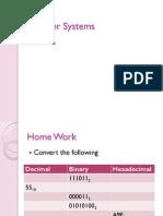 Woeksheet - Number Systems
