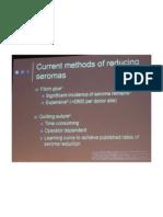 Current Methods of Reducing Seromas